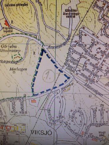 Ett område väster Mälar/Råstensvägen