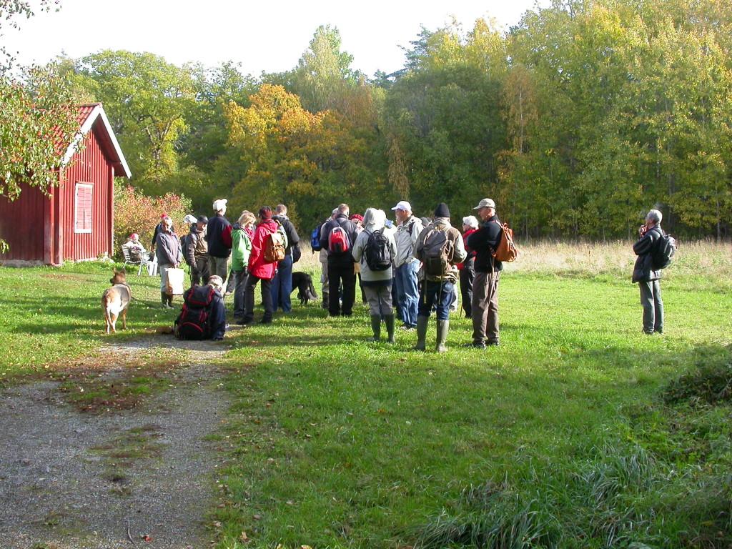 Naturskyddsföreningen lär sig mera om Järfällas vackra natur