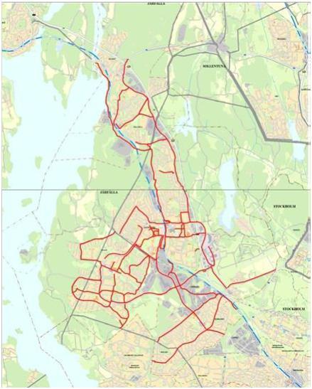 Vinterväghållning cykelvägar