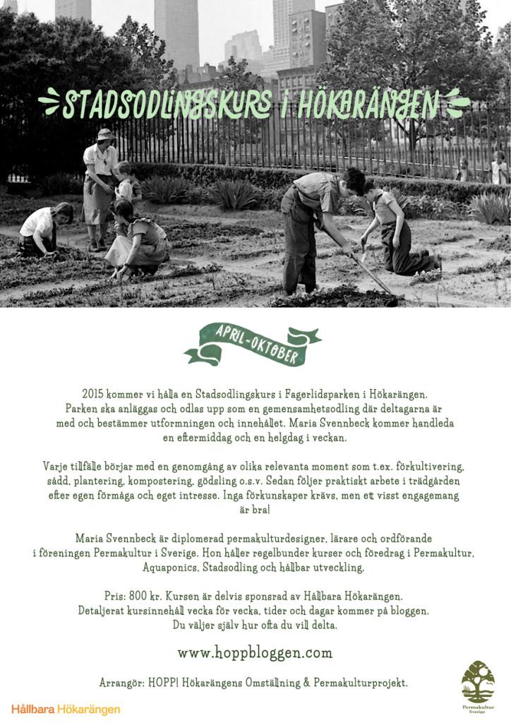 holistisk gardening i Hökarängen