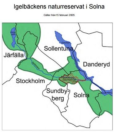 Igelbäckens naturreservat Solna