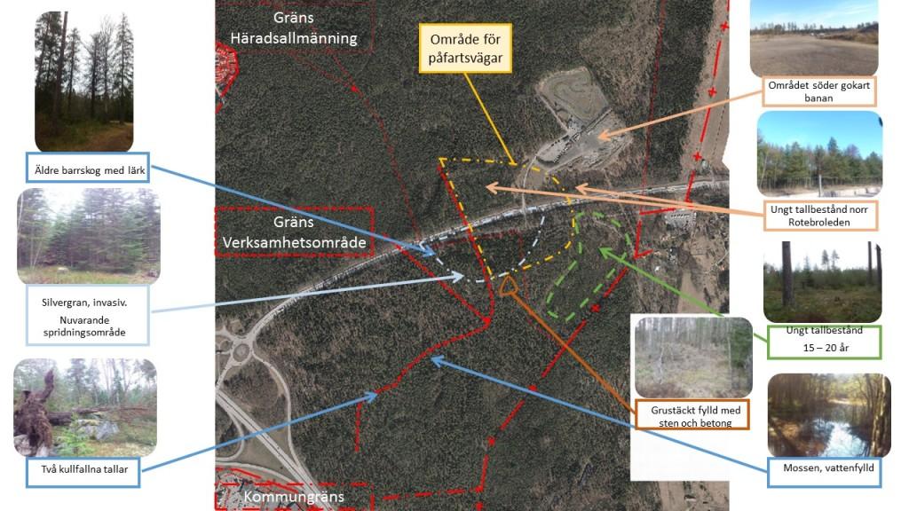 Bild 8 Stäkets verksamhetsområde försvagar sambanden
