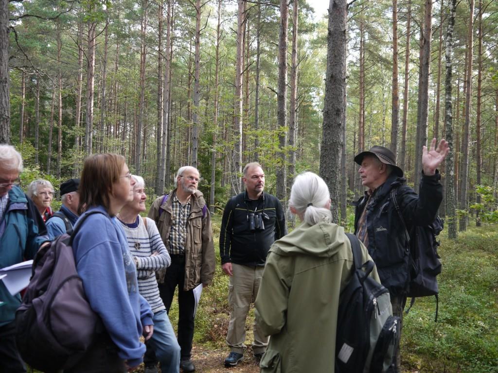 Exkursion Häradsallmänningen (Foto Karin Hanzé)
