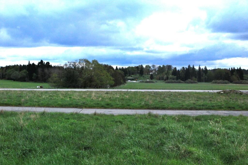 Igelbäcken från gamla Häradsvägen mot Hästa gård